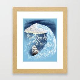Perfect Storm Framed Art Print