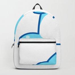 Wal Blauwal Meer Ozean Orca  Backpack
