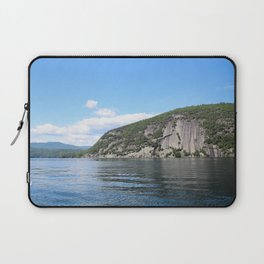 Summer's End: Roger's Rock on Lake George Laptop Sleeve