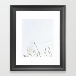 Light inspired - Meditation - Lightness of Being Framed Art Print