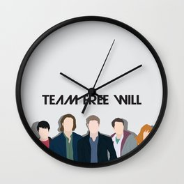 The new Team Free Will Wall Clock