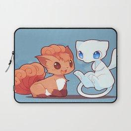Chibi Vulpix and Mew Laptop Sleeve