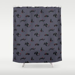Toothless the Dragon Shower Curtain