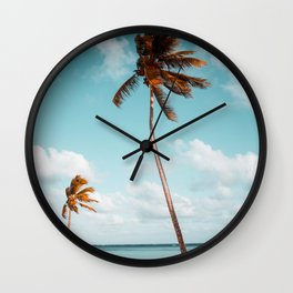 Dominican Republic #society6 #decor #buyart Wall Clock