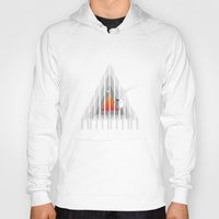 piano Hoodies featuring Cosmic Piano by Robson Borges