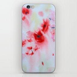 Poppies in the Summer Haze iPhone Skin
