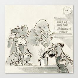 Dinersaurs Canvas Print