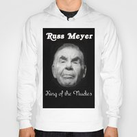 kevin russ Hoodies featuring Russ Meyer Tribute Poster by Holland