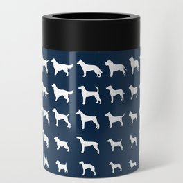 All Dogs (Navy) Can Cooler