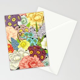 Floral Pattern 13 Stationery Cards