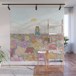 one eyed woman Wall Mural