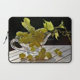 Grapes on the Table Laptop Sleeve