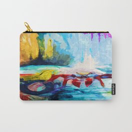 Red Crab Carry-All Pouch