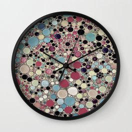 :: Colorblind :: Wall Clock