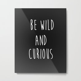 Wild Things Metal Print