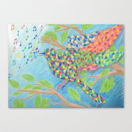 Kaleidescopic Canvas Print