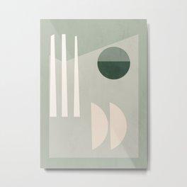 Geometric Abstract 74 Metal Print