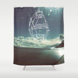 Sail the Skies Shower Curtain