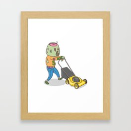 My Personal Zombie Framed Art Print