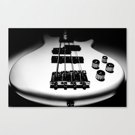 Bass Lines Canvas Print