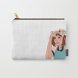 Uraraka Ochako Flower Crown Carry-All Pouch