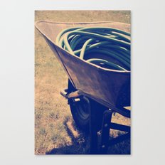 Yardwork Canvas Print