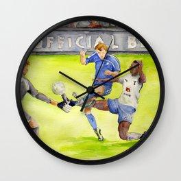 Ledley King tackles Robben Wall Clock