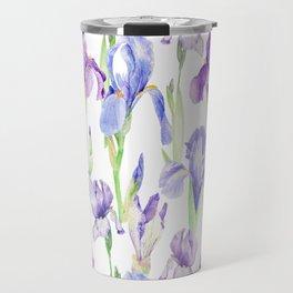 Irises Travel Mug