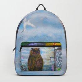Norvegian owl Backpack