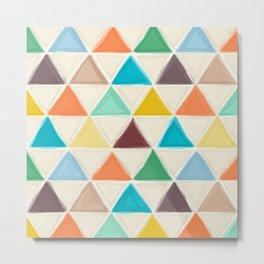 Portland triangles Metal Print