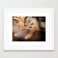 anaconda Framed Art Prints featuring Anaconda by theGalary