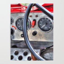 Steering & Dash Poster