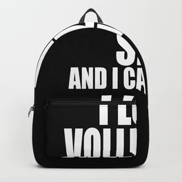 Volleyball Size Backpack