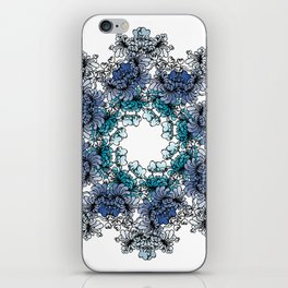 Indigo Bloom Portuguese Tiles – Braga iPhone Skin