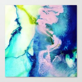 Rosa Caelum Canvas Print