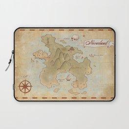 Map of Neverland Laptop Sleeve