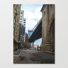 Welcome to DUMBO Canvas Print