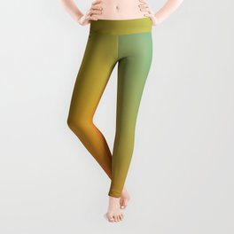 Gradient Colours: Red Yellow Blue Leggings