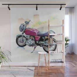 Rosso Honda (Motocicletalia) Wall Mural