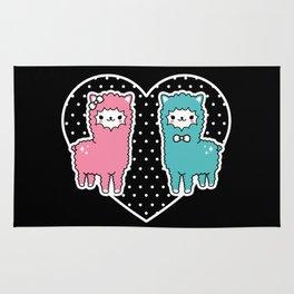 Alpaca Pair Rug