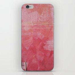 Pink Yes Greeting Card iPhone Skin