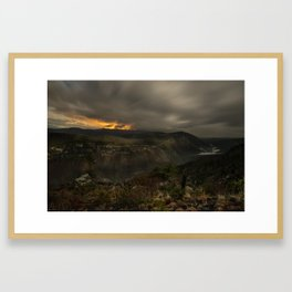 Ghosts of Linville Framed Art Print
