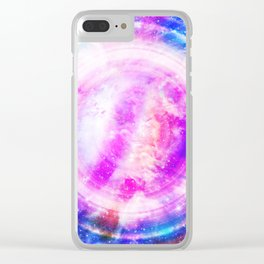 Galaxy Redux Clear iPhone Case