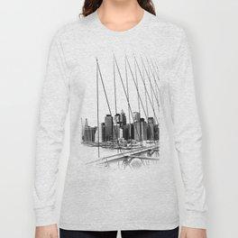Manhattan NYC x Long Sleeve T-shirt