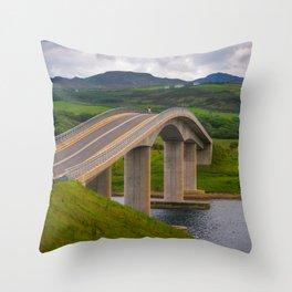 The Harry Blaney Bridge - Ireland (RR231) Throw Pillow