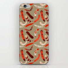 Flying Feathers iPhone Skin