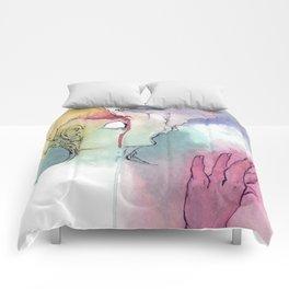 Unattainable Dreams Comforters