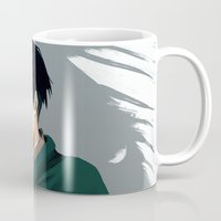 levi Mugs featuring Levi by MelCassells