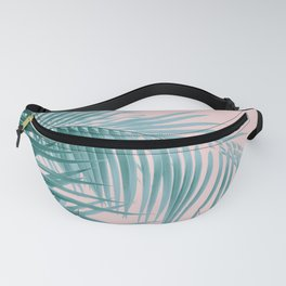 Palm Leaves Blush Summer Vibes #3 #tropical #decor #art #society6 Fanny Pack