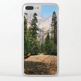 Lower Yosemite Falls Clear iPhone Case